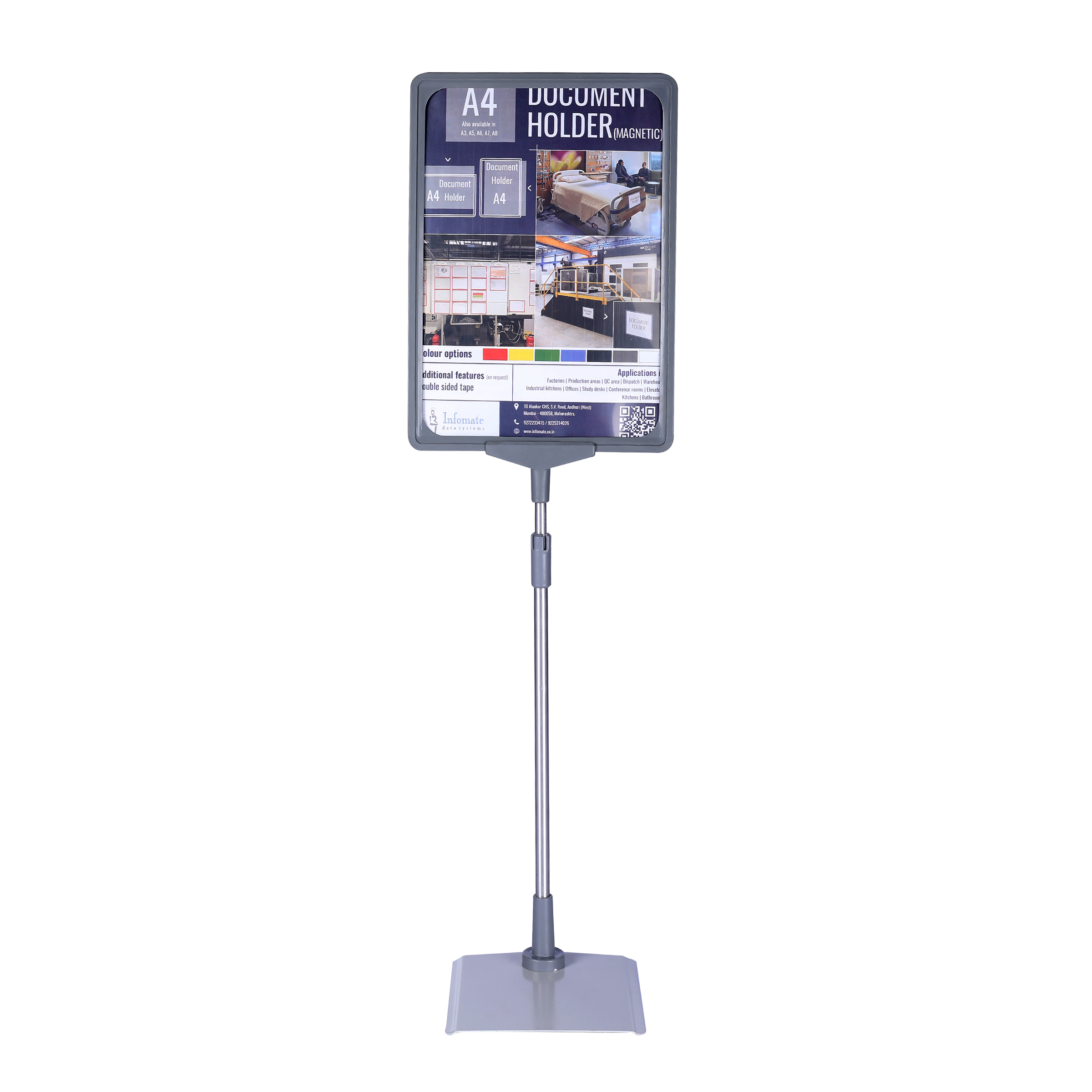 Infomate floor sign holder