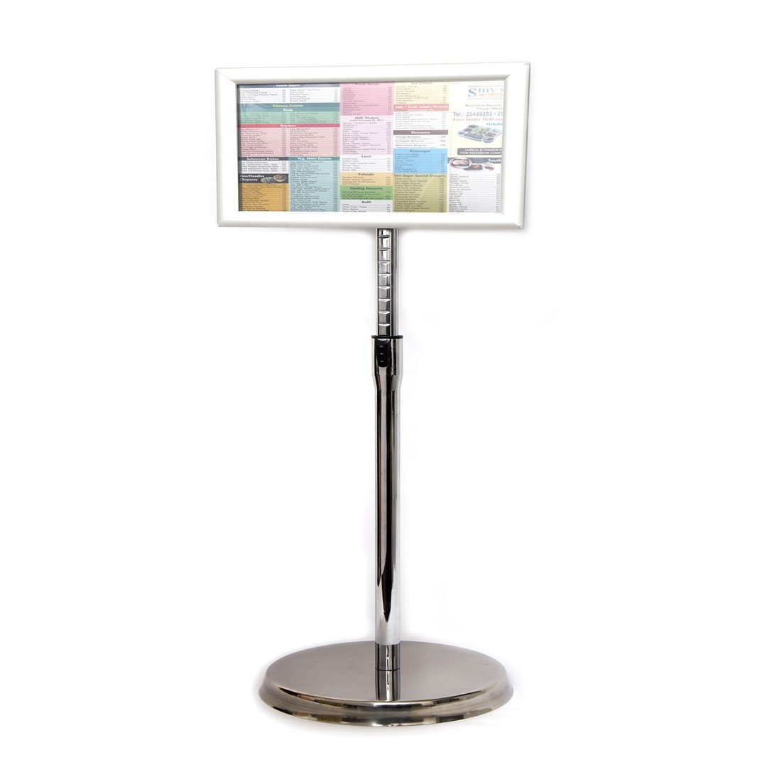 TELESCOPIC POSTER STAND