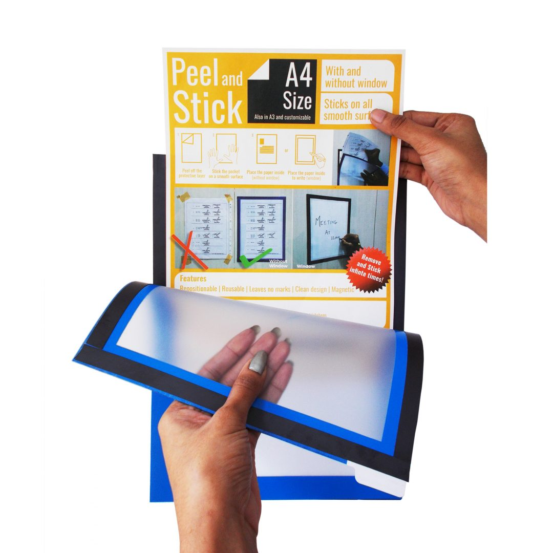 PEEL AND STICK - GLASS DISPLAY